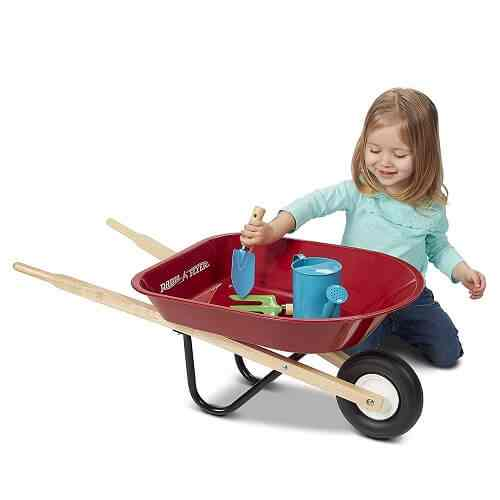 Radio Flyer Kid's Wheelbarrow Review